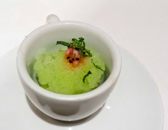 Cucumber and Mint Sorbet
